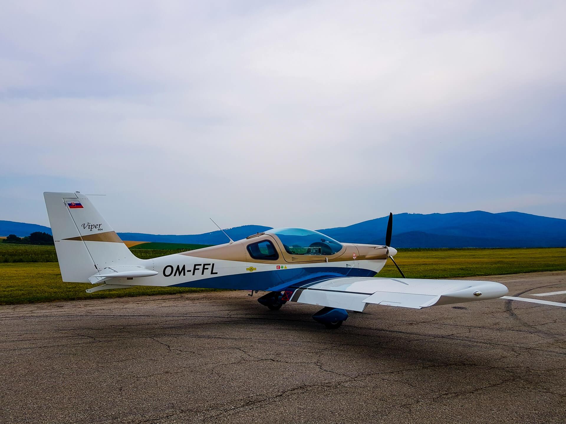 LeteckyVycvik-lietadlo